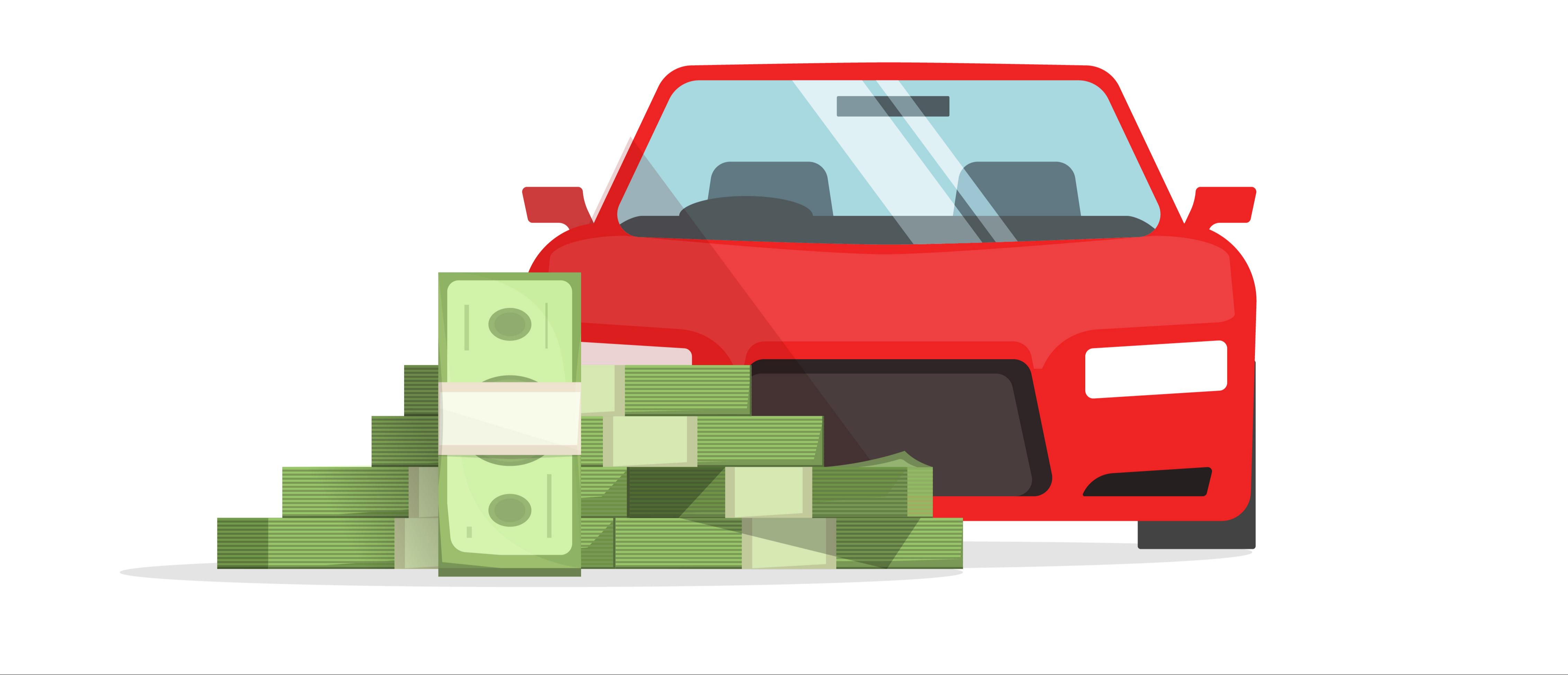 Rahaa autoon