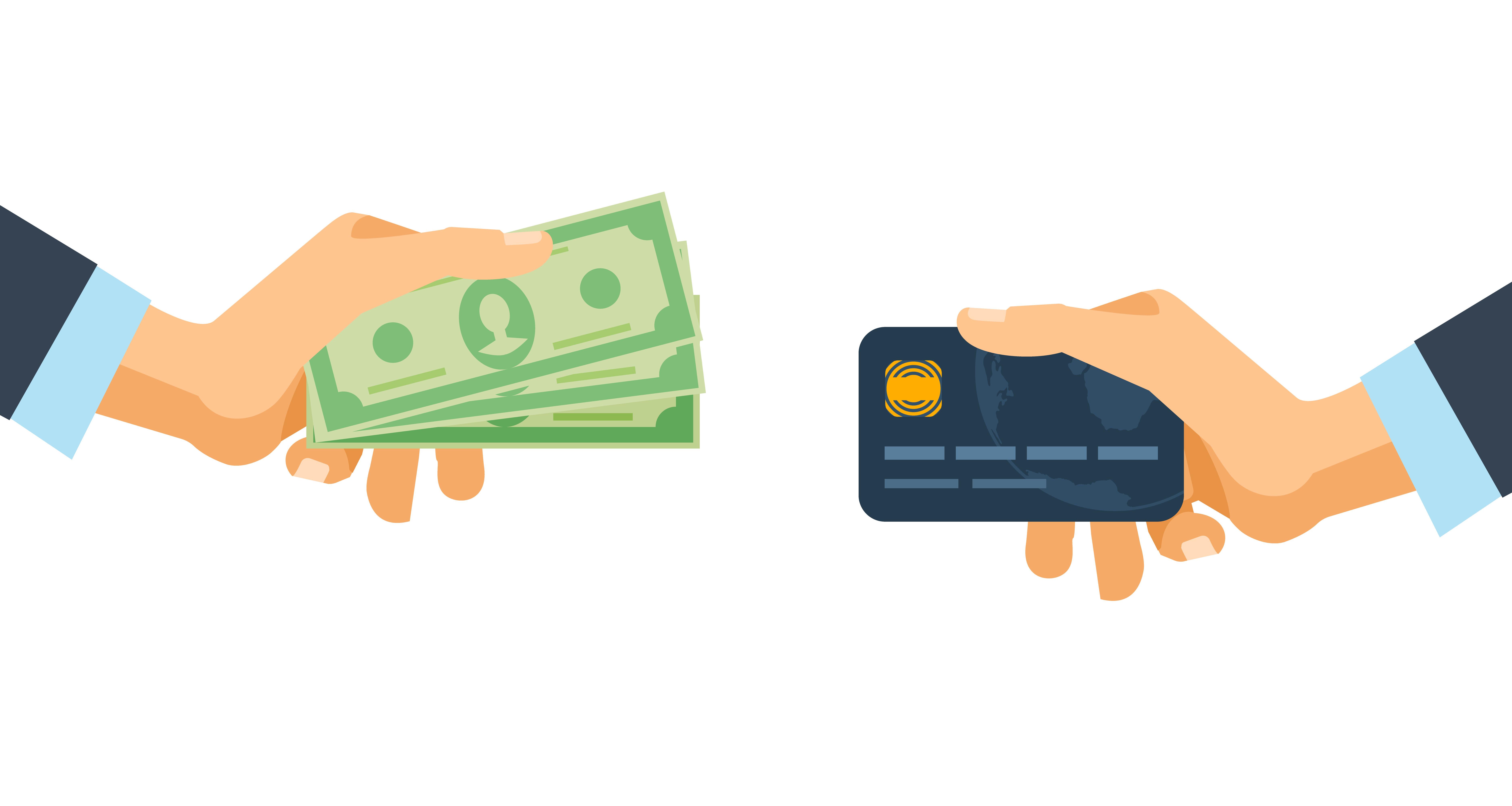 Å velge refinansiering med kredittkortgjeld