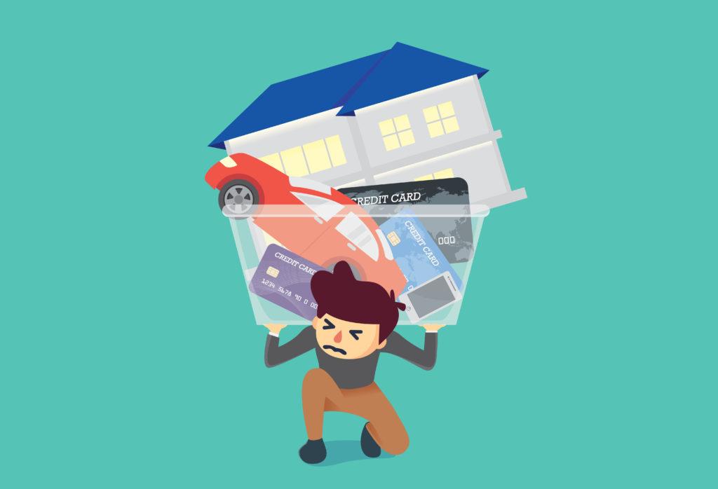 Gjeldsbelastning når du vil låne mer på huset
