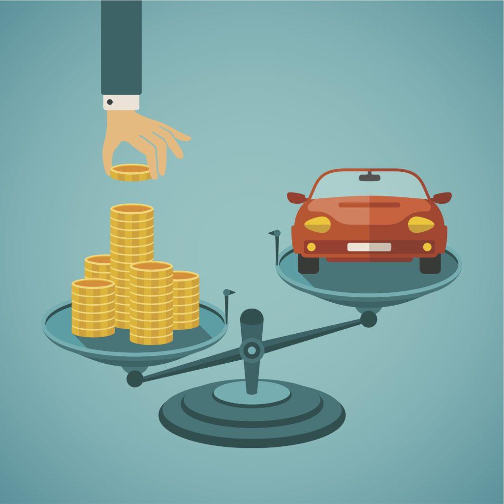 Verdi på bilen og beste billån