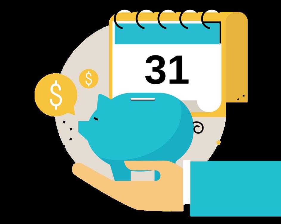Högsta månatliga avbetalning som strategi